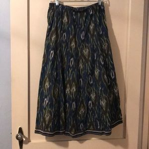 Chico's broomstick skirt